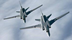 Британцы подняли истребители на перехват российских самолётов
